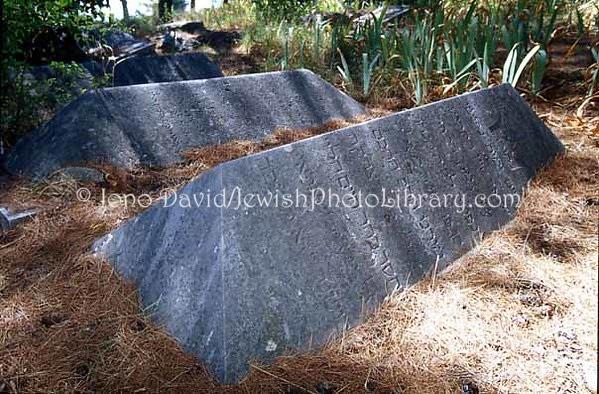 CROATIA, Split. Old Jewish Cemetery. (2004)