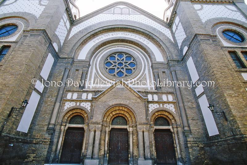 EE 825  SERBIA, Novi Sad  Novi Sad Synagogue