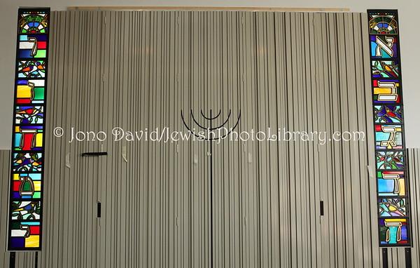 ENGLAND, London. New North London Synagogue (new synagogue). (3.2011)