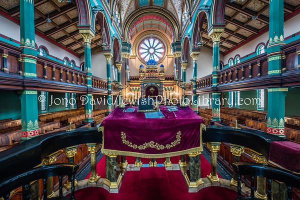 ENGLAND, Liverpool. Princes Road Synagogue (3.2017)