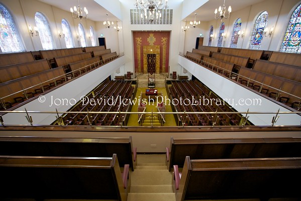 ENGLAND, London. Central Synagogue (8.2016)