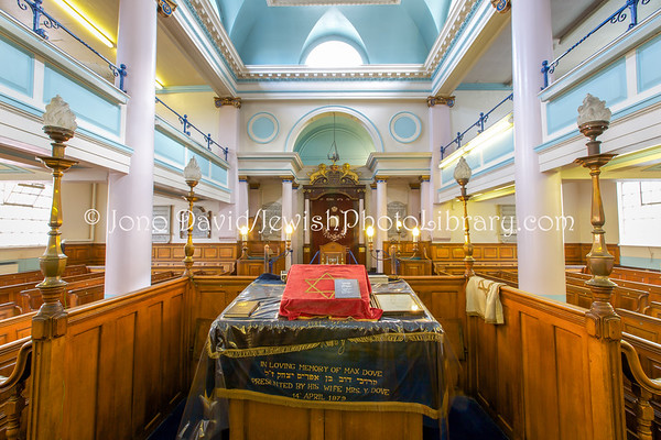 ENGLAND, London. East London Central Synagogue (aka Nelson Street Synagogue) (8.2016)