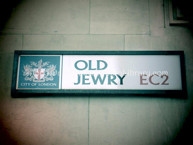 UK 1693  Old Jewry Street
