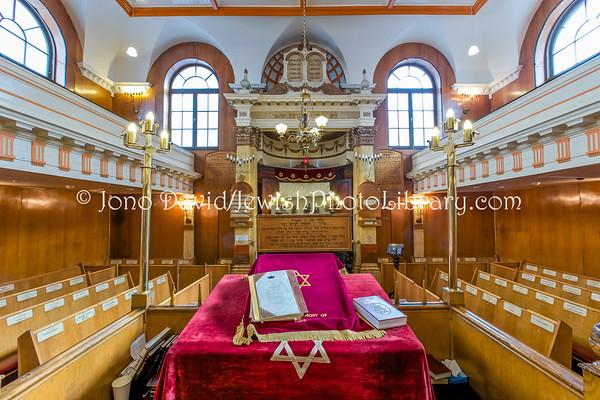 ENGLAND, London. Sandy's Row Synagogue (8.2016)