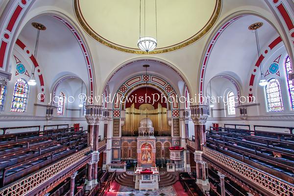 ENGLAND, London. West London Synagogue. (3.2012)
