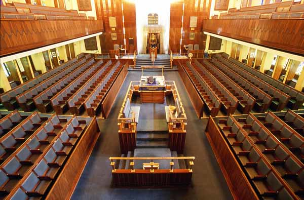 ENGLAND, London. Western Marble Arch Synagogue. (2006)