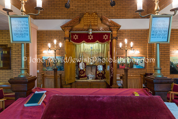 ENGLAND, Stoke-on-Trent. Stoke-on-Trent & North Staffordshire Hebrew Congregation Synagogue (3.2017)