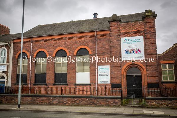 ENGLAND, Stoke-on-Trent. Original Stoke-on-Trent & North Staffordshire Hebrew Congregation Synagogue (3.2017)
