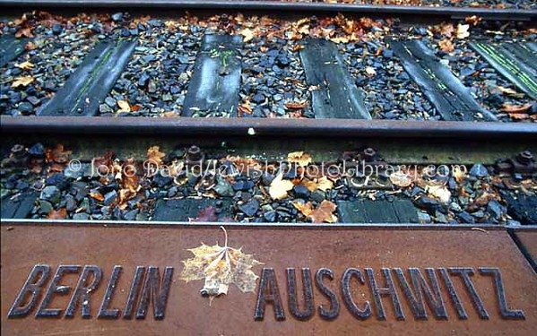 GERMANY, Berlin. Grunewald Train Station Holocaust Memorial. (2004)
