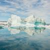 Reflections of an iceberg, Sermilik Fjord