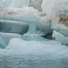 Caves in the iceberg, Sermilik Fjord