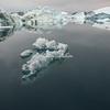 A melting piece of iceberg, Sermilik Fjord
