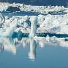 Ice jam on Sermilik Fjord