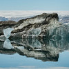 "A ""dirty"" iceberg, Sermilik Fjord"