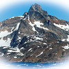 Qingmertajalik Mountain overlooking King Oscar's Fjord across from Tasiilaq