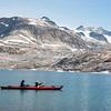 Kayaking off Sarpaq Island