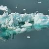 Reflections of sea ice, Sermilik Fjord