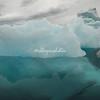 Depths of an iceberg, Sermilik Fjord