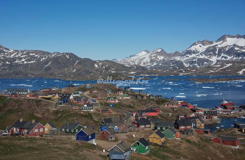 Tasiilaq and King Oscar's Fjord