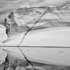 An iceberg and its mirror image reflection, Sermilik Fjord