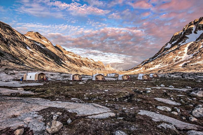 Natural Habitat's Base Camp Greenland