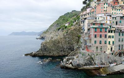 Riomaggiore of the Cinque Terre