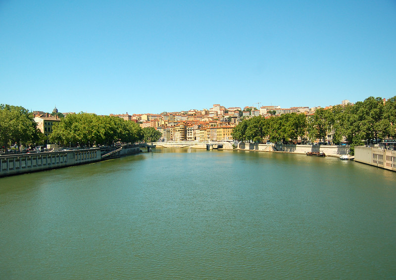 The Saone River, Lyon