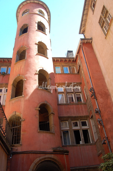 Maison de la Tour Rose, Lyons, France