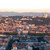 Fourviere, Lyon, at sunrise