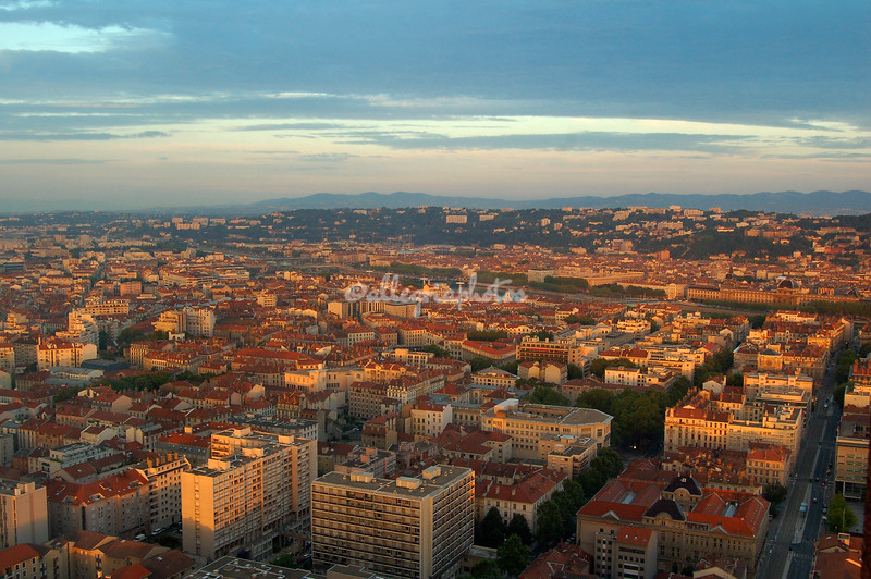 Sunrise over Lyon