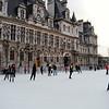 Ice Rink, Hotel de Ville, Paris