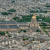 View of Les Invalides from the Eiffel Tower, Paris
