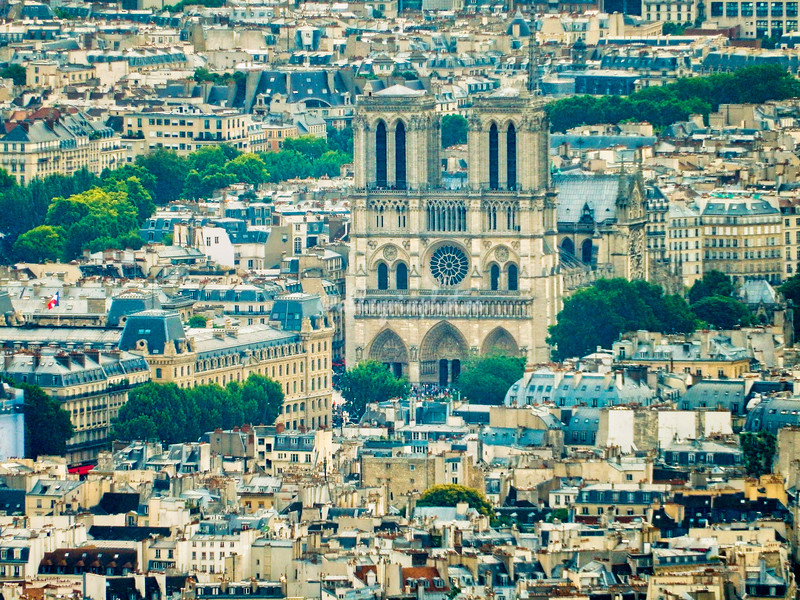 Notre Dame, Paris (prior to the fire in 2019)
