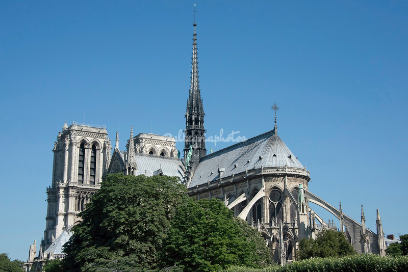 Notre Dame Cathedral, Paris, France (prior to fire in 2019)