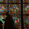 Stained glass windows, Notre Dame Cathedral