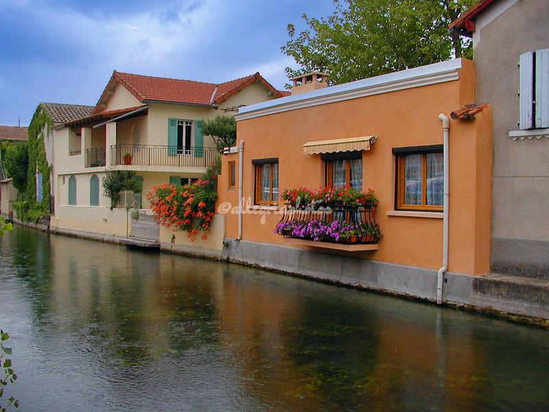L'Ile Sur La Sorgue, Provence