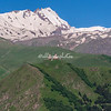 Gergeti Monastery and Mt. Kazbek