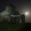 Shenako Cathedral under a Strawberry Moon