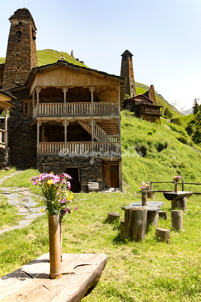 Houses of Dartlo, Tusheti