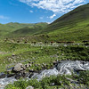 Water torrent near Parsma, Tusheti