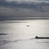 Ships out at sea, Gibraltar, British Overseas Territory, Iberian Peninsula