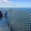 Tourists at an observation point, Gibraltar, British Overseas Territory, Iberian Peninsula