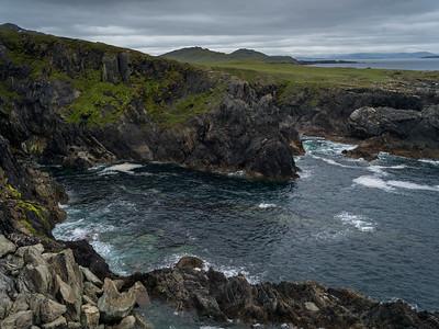 View of coastline, Achill Island, County Mayo, Ireland