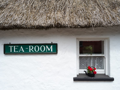 Tea room, Castle and Folk Park, Bunratty, County Clare, Republic of Ireland