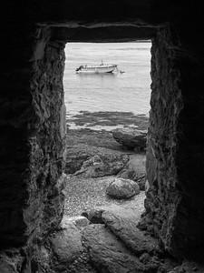 Rocks on the coast, Achill Island, County Mayo, Ireland