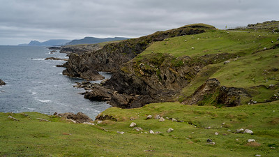 View of coastline, Achill Island, County Mayo, Ireland