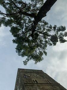 Bell tower of Villa Rufolo, Ravello, Amalfi Coast, Salerno, Campania, Italy