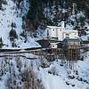 Ski resort, Alpine Resort, Aosta Valley, Courmayeur, Northern Italy, Italy