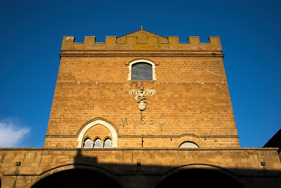 Low angle view of a historic building, Orvieto, Terni Province, Umbria, Italy