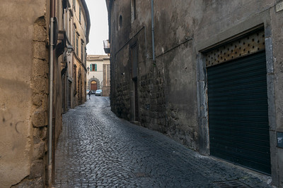 View of an alley, Orvieto, Terni Province, Umbria, Italy